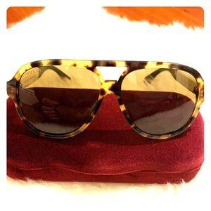 Gucci Aviator Glasses